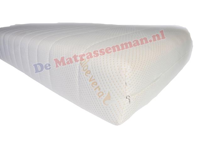 Aloe Vera Matras : Pocketvering nasa matras maatwerk trapezium matrassenman