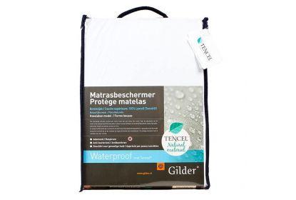 Gilder waterproof matrasbeschermer met tencel
