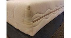 Koudschuim matras Organic medium maatwerk schuine inwendige hoek