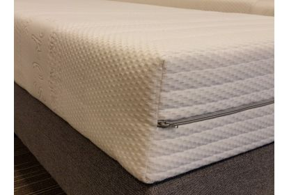 Koudschuim matras 20 cm maatwerk rechthoekig met uitsnede