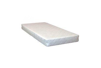 Hybrid matras 14cm maatwerk trapezium met 2 schuine hoeken