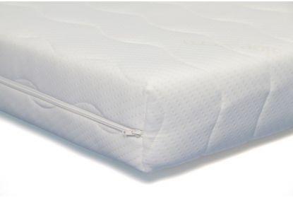 Koudschuim matras 14 cm maatwerk rechthoekig  met uitsnede