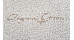 Koudschuim matras Organic medium maatwerk frans
