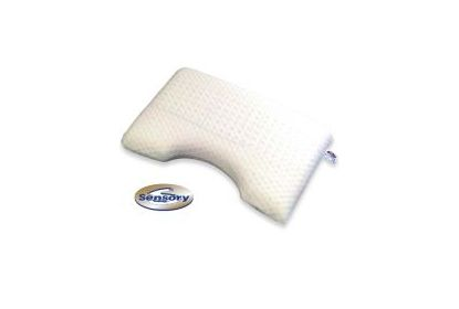 New sensory kussen natuur latex mahoton matrassenman