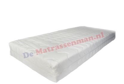 Pocketvering 300 koudschuim matras maatwerk trapezium met 2 schuine hoeken